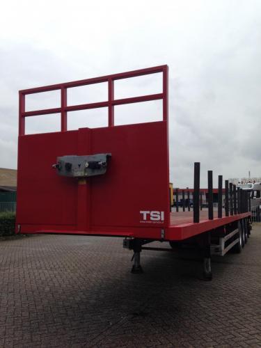 Ombouw van schuifzeil naar rongen trailer